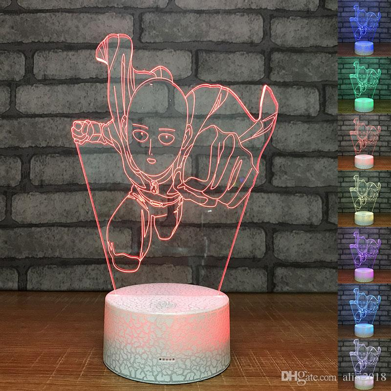 Lights & Lighting Creative Novelty Desk Lamp Discoloration 3d Small Table Lamp Custom Gift Manufacturer Wholesale Led Small Night Light Led Lamps