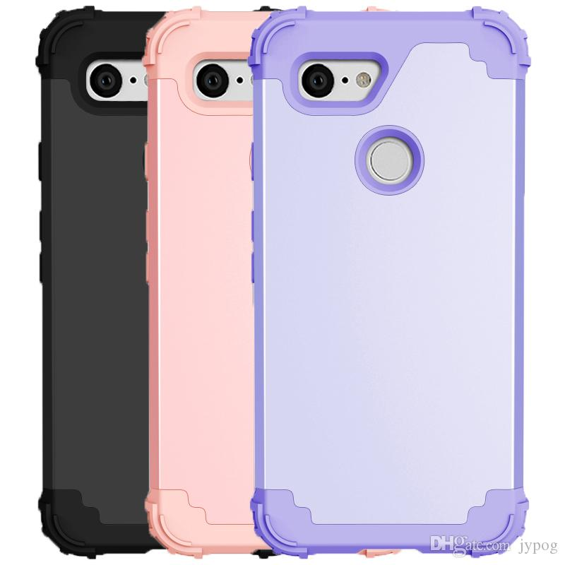 online store 22d16 719c1 For Google Pixel 3 Case 3in1 Soft TPU material and Hard Poly Carbonate L  Series For Google Pixel 3 XL