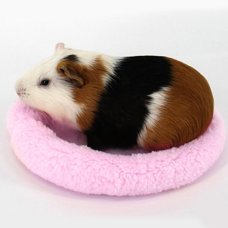 Home & Garden Guinea Pig Chinchillas Squirrel Bed Nest Hamster House Hammock Cage Accessories Mini Animals Hamster Bed Color Randomly