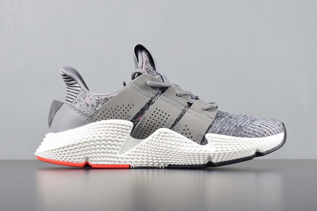 sports shoes 8fe70 075da 2018 Yüksek Kalite Prophere Climacool EQT 4 Koşu Ayakkabıları Erkekler  Beyaz Gri Kırmızı Destek Koşu Açık Moda Spor Sneaker