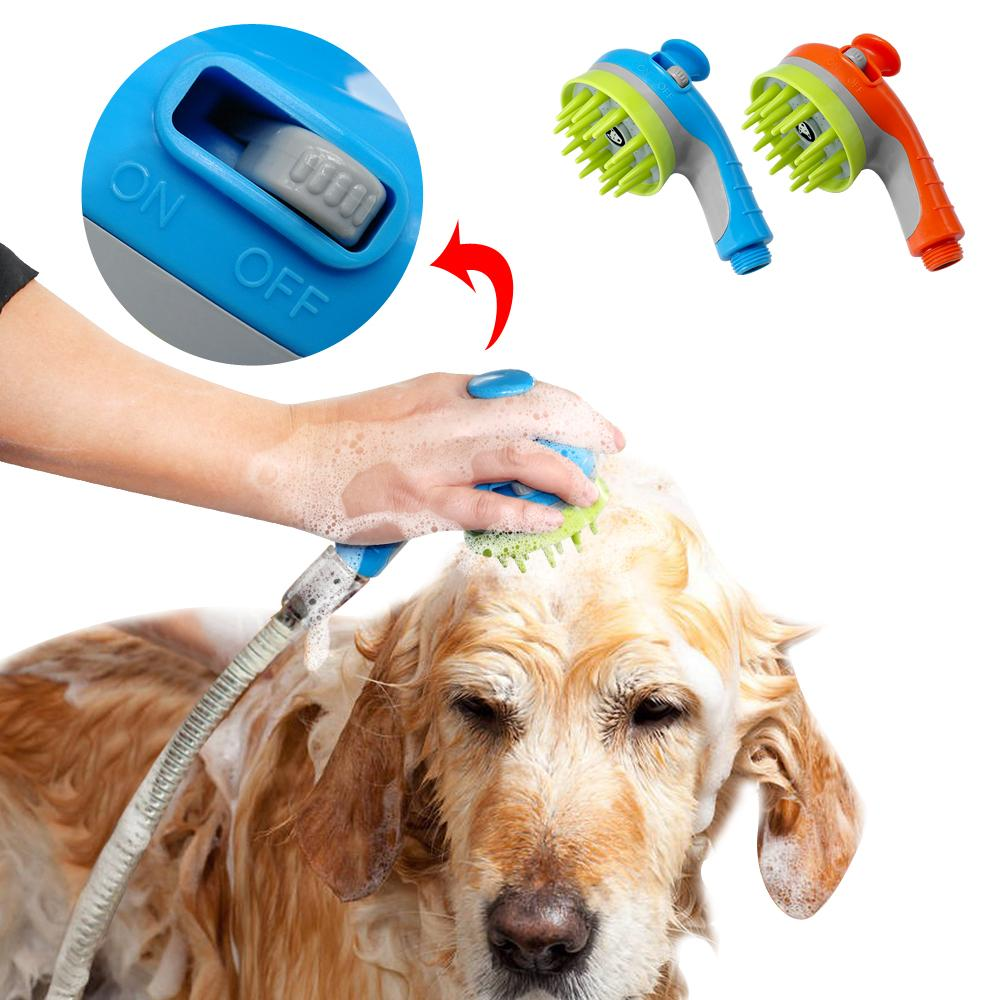 Bon 2018 Pet Dog Cat Shower Sprayers Bathtub Brush Dogs Cats Horse Bathing Comb  Massage Grooming Cleaning Tool Hair Washing From Etopets, $25.13    Dhgate.Com