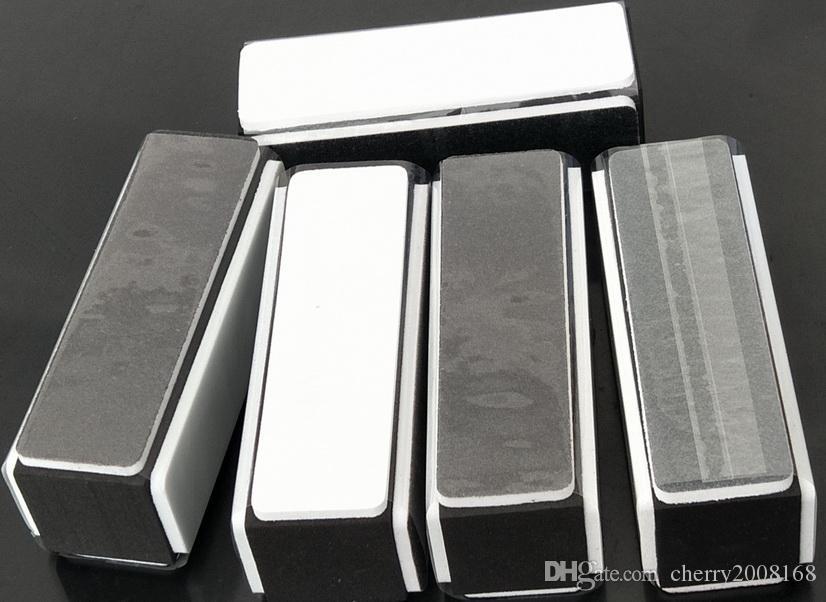 Retail Black Bianco 4 modi in Nail Art Buffer File Nail Art Strumenti DIY Nail Block File Strumenti di levigatura Manicure