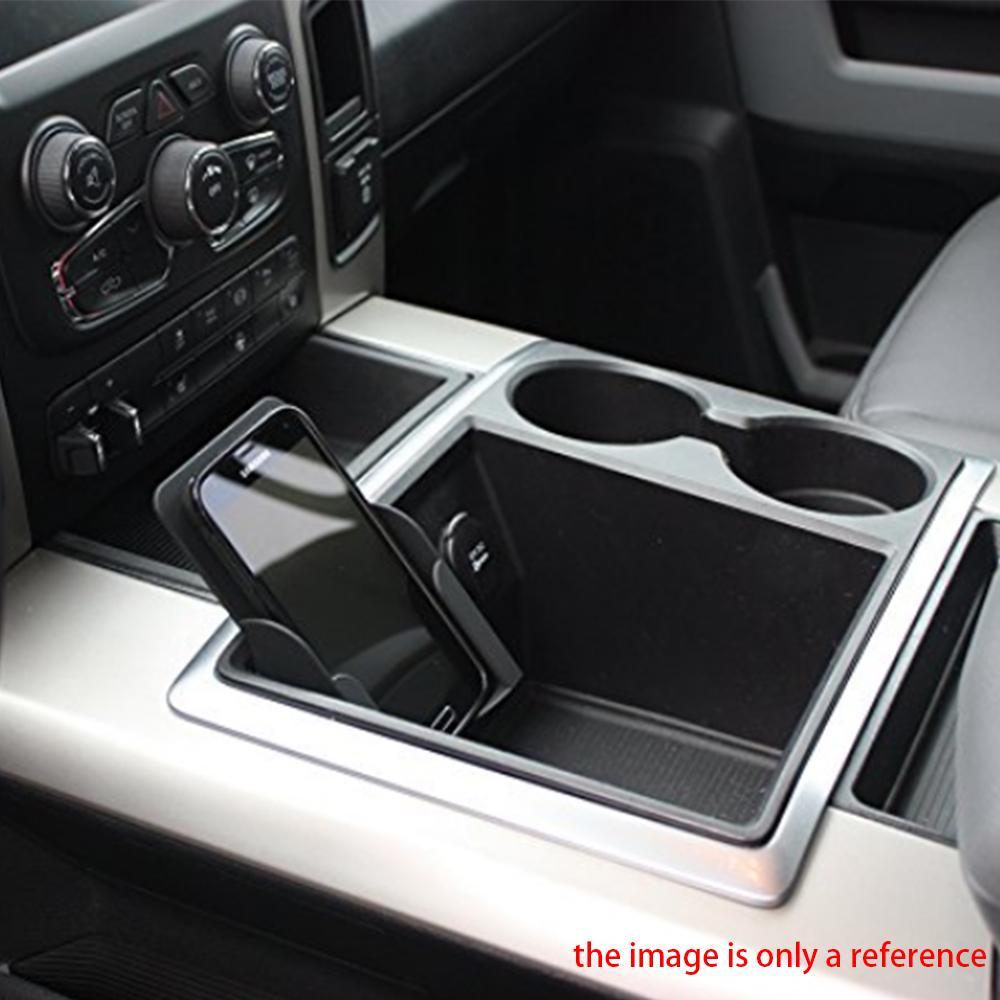 Acheter Support De Tlphone Plateau Stockage Voiture Bote Pour Le Titulaire Carte Visite Camions Dodge Ram 2009 2010 2011 2012