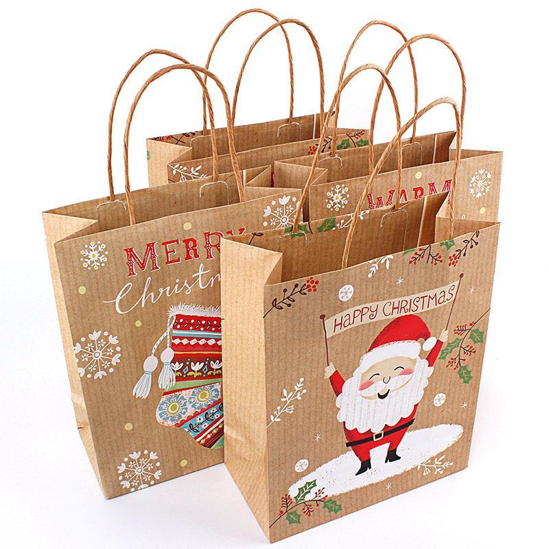 Großhandel 4 Stücke Weihnachten Kreative Geschenk Taschen Für ...