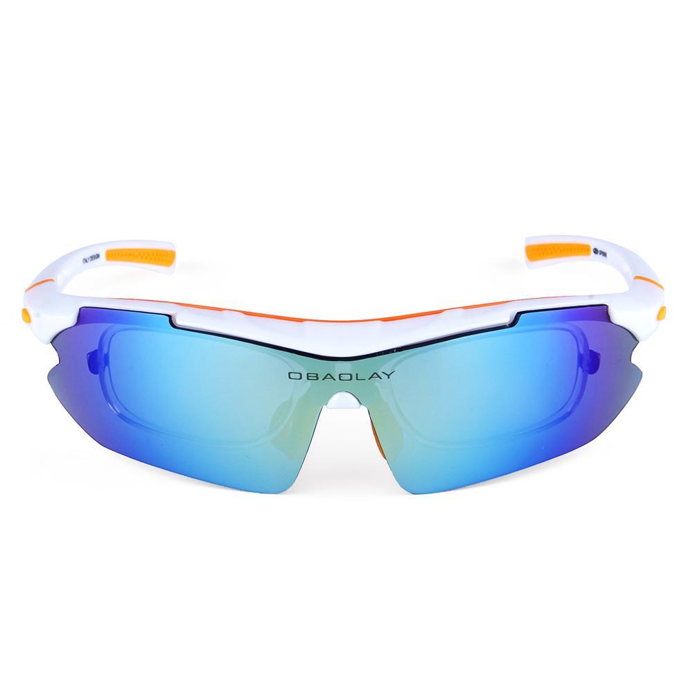 1be82055c1 Gafas De Ciclismo Polarizadas Gafas De Sol Para Bicicletas Al Aire Libre  Moto Reflectante Gafas De Protección UV 5 Lentes Gafas Gafas Ciclismo Por  Lvmangguo ...