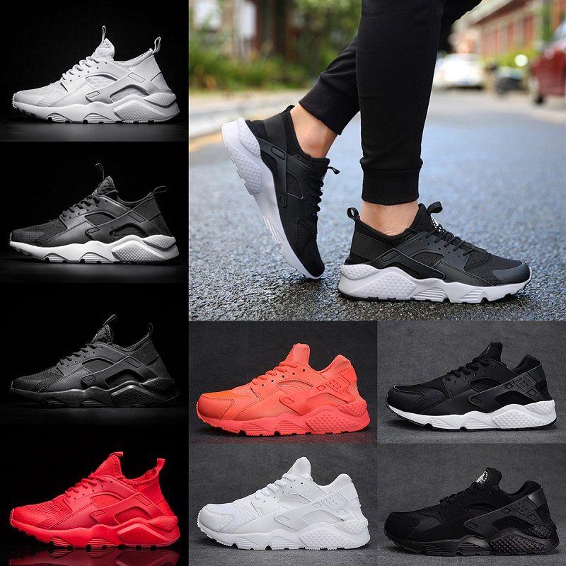 reputable site 16e05 f25b1 Classical Designer 4 Huarache 1 Men Running Shoes Triple White Black Red  Portable Breathable Runs Huaraches Womens Sports Sneakers US 5.5 11 Shoe  Sale ...