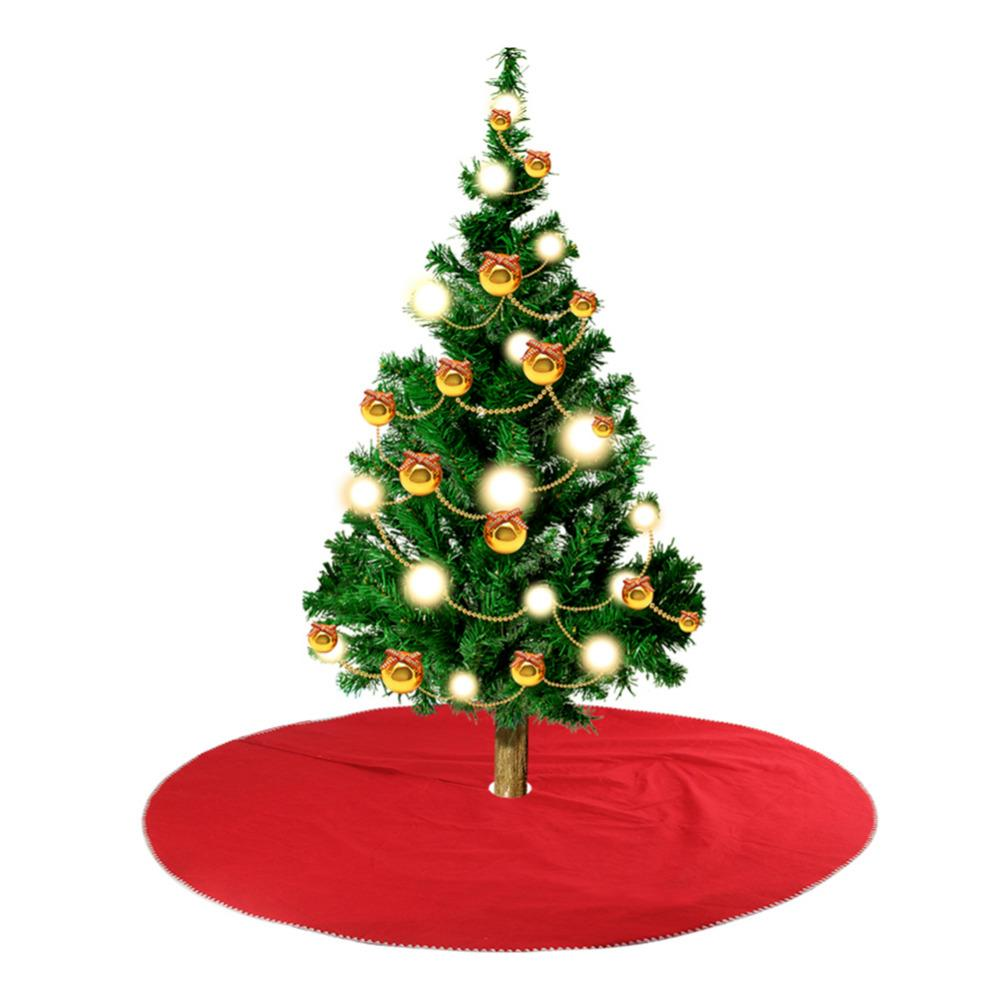 wholesale christmas trees red non woven fabrics decoration 2017 christmas suppliers for home festival party prop for christmas trees outdoor christmas ball