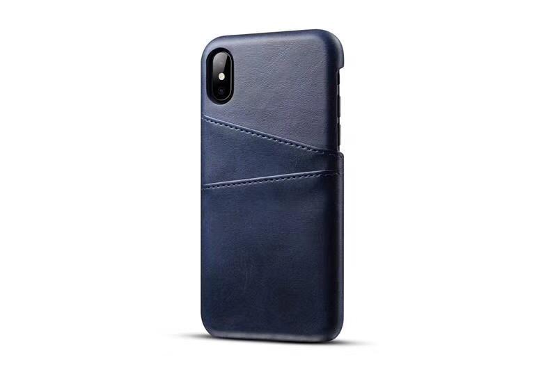 Luxury PU leather case cover Business Style with card pouch for iphoneX 8plus 8 6 6plus 7 7plus Fashion Wallet Holder Shell better