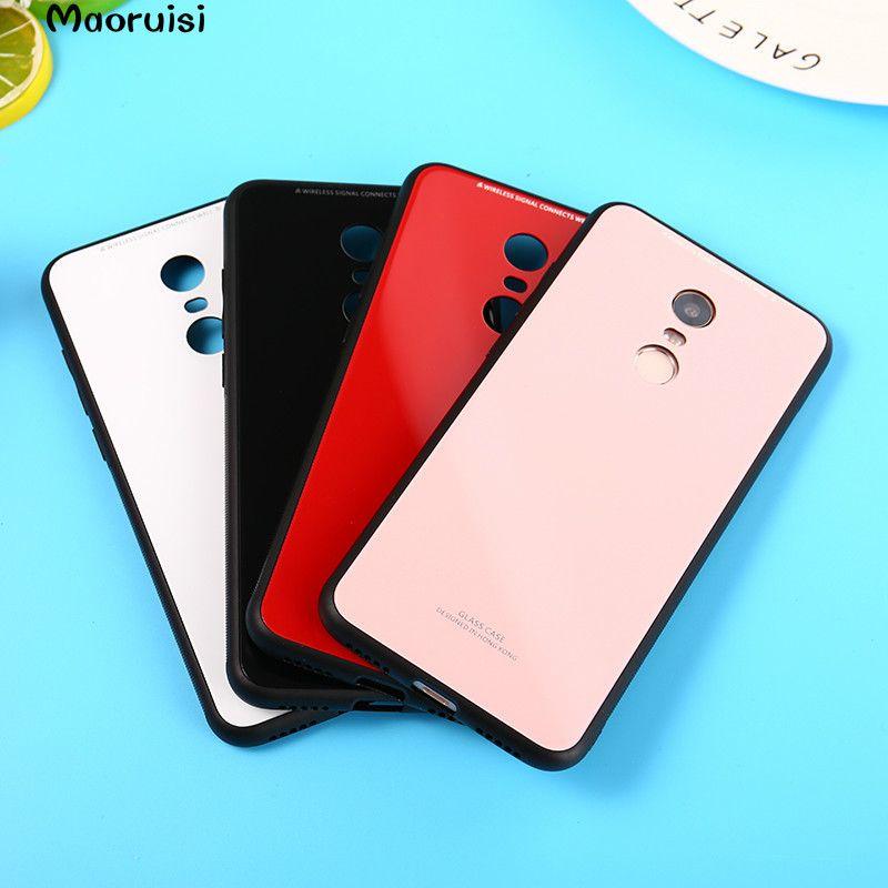 the best attitude 0ae4f 1fd49 Tempered Glass Cover For Xiaomi Redmi 5 5 Plus TPU Silicone Frame Hard  Bumper For Xiaomi Redmi Note 5A Pro 4X 4A Mi A1 5X Case