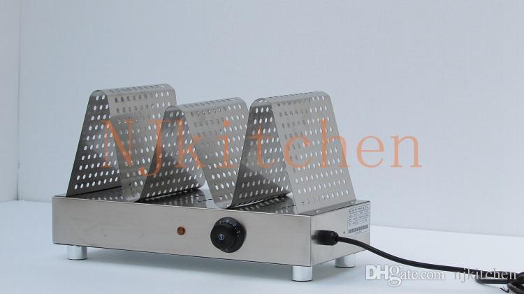 Livraison Gratuite 110v 220v commercial style hongkong QQ oeuf gaufre crème glacée feuilletée cône plus chaud bulle électrique gaufrier plus chaud displayer