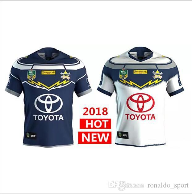 2018 North Queensland Cowboys Rugby Jerseys 2018 Home Away Jersey Nrl  National Rugby League Nrl Jersey Australia Shirt S 3xl From Ronaldo sport bd6980a9d
