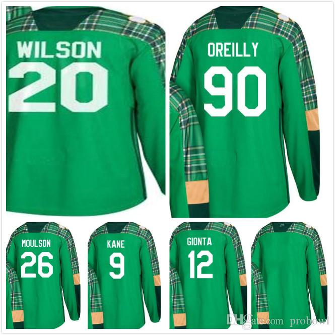2018 St. Patrick s Day Buffalo Sabres Scott Wilson 90 Ryan O Reilly ... 4fe270c80