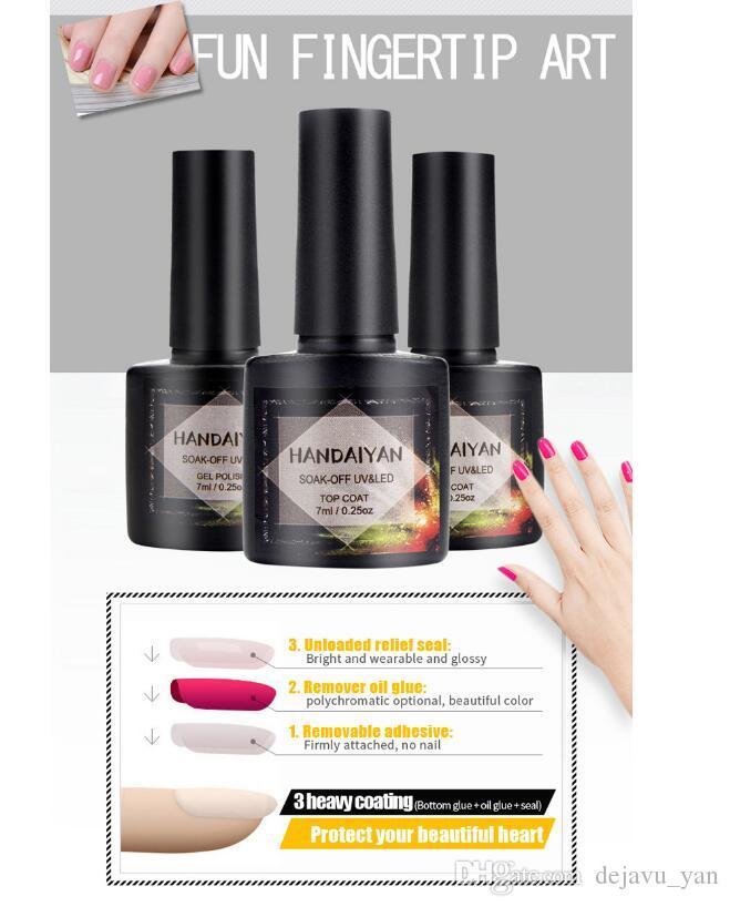 Free DHL 2018 New Coming Handaiyan Nail Polish Phototherapy Gel ...
