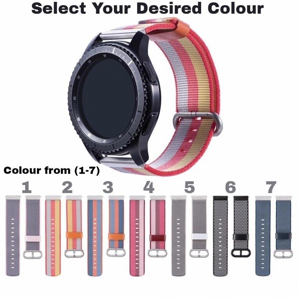 band for Samsung Gear S2 sport S3 Classic Frontier strap For Pebble Time Steel huami amazfit pace bip lite 22mm