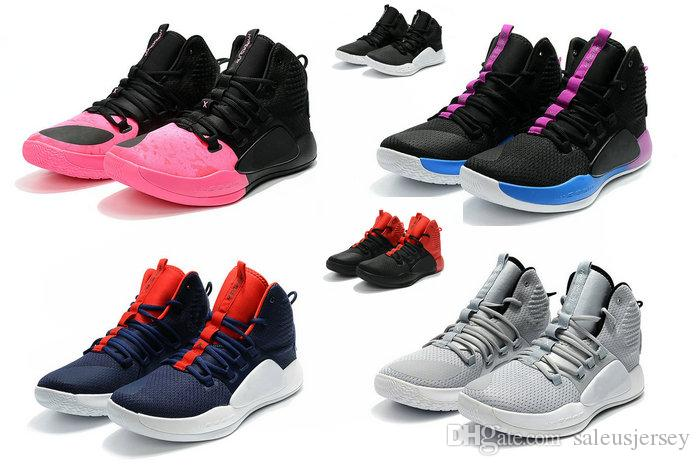 best service e6592 36467 2018 New Hyperdunk X EP Mrn Women Kids Basketball Shoes High Quality  Hyperdunk X EP 10 Hi Youths Sports Sneaker Trainers Tennis Shoes Junior Black  Sneakers ...