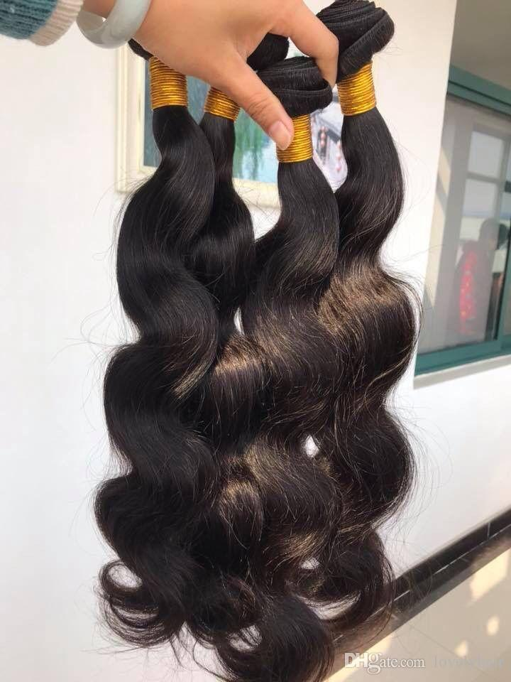 8a Grade Brazilian Body Wave Hair Weaves Hair Bundles 400g Brazilian