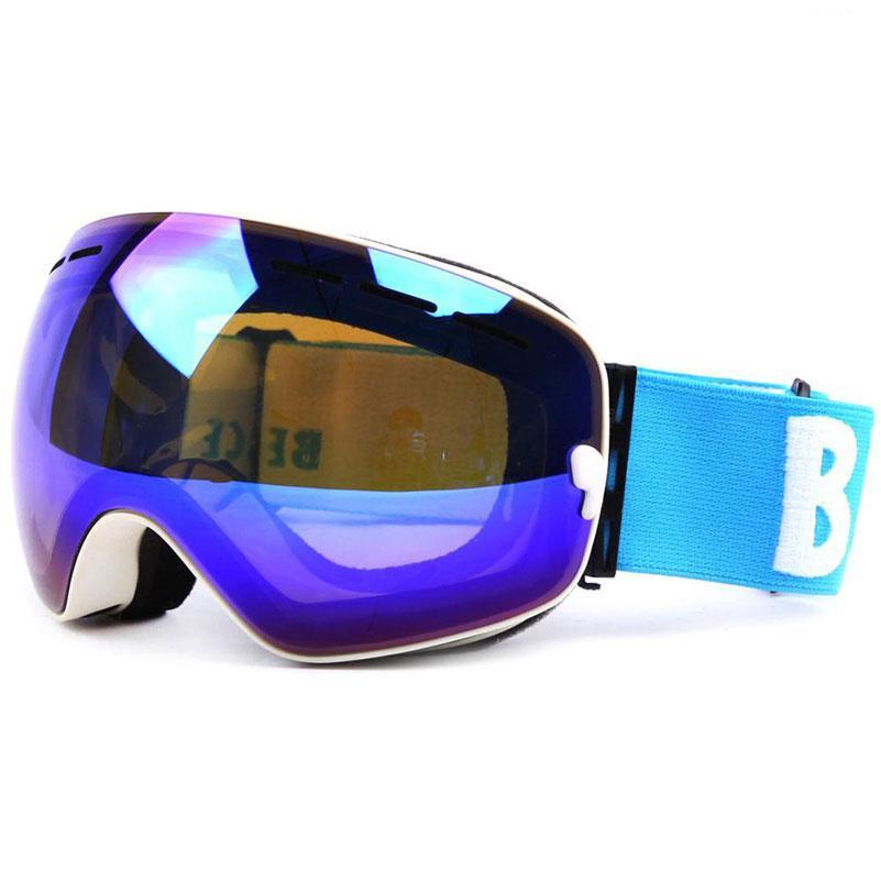 1aa21b3f6bec 2019 UV400 Anti Fog Double Layers Ski Goggles Big Lens Men Ski Mask ...