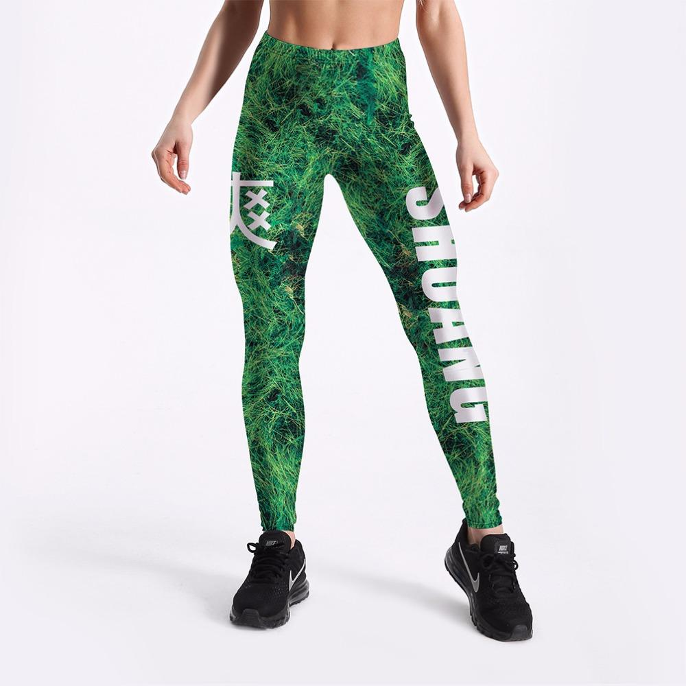 8aa3c46391121 2019 High Quality Women Legins Green Leaves Printing Legging Fashion Casual  High Waist Woman Plus Size 4XL Leggings From Cailey, $34.42 | DHgate.Com