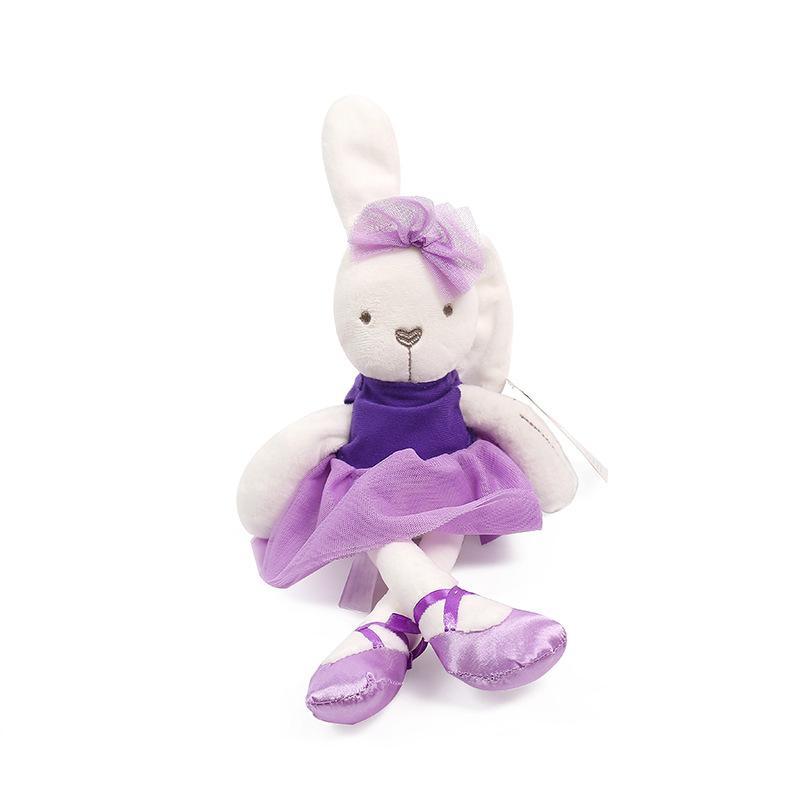 42 cm Bonito Do Bebê Do Coelho Brinquedos De Pelúcia Macia Mini Stuffed Animals Crianças Brinquedos Do Bebê Suave Obediente Dormir Coelho Boneca