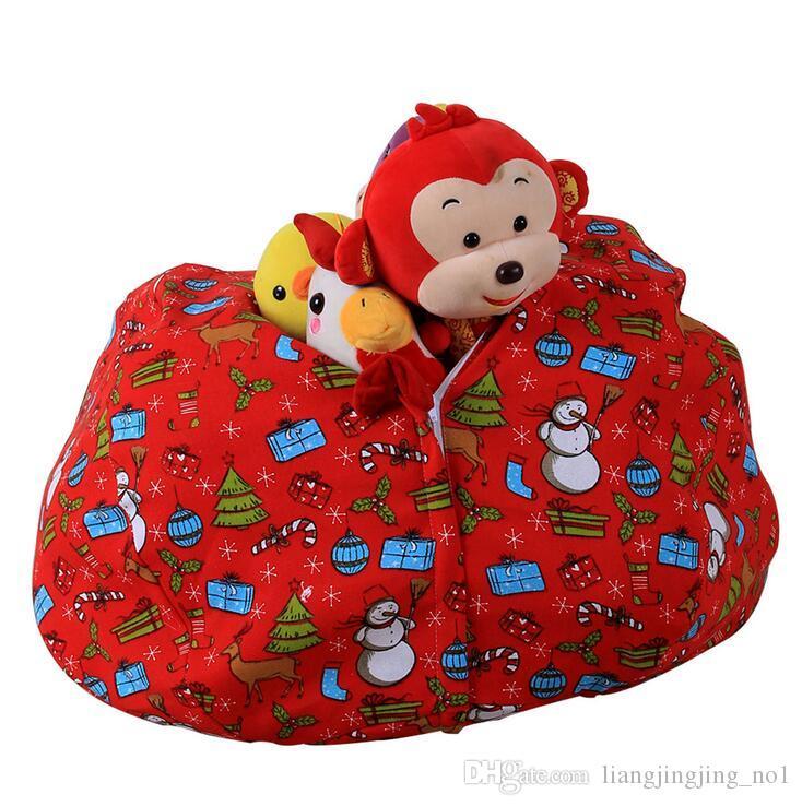 Brinquedo de pelúcia Saco De Feijão De Armazenamento 43 Cores Beanbag Cadeira Stuffed Room Mats Stuffed Bolsa Macia Tarja De Armazenamento De Saco De Feijão EEA11