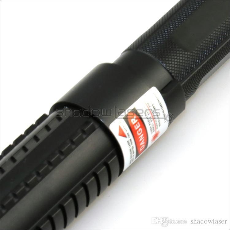 Shadowlasers VX6 ad alta potenza 405nm puntatore laser viola blu viola torcia laser Lazer fascio torcia caccia con 2 * 16340 batterie Li
