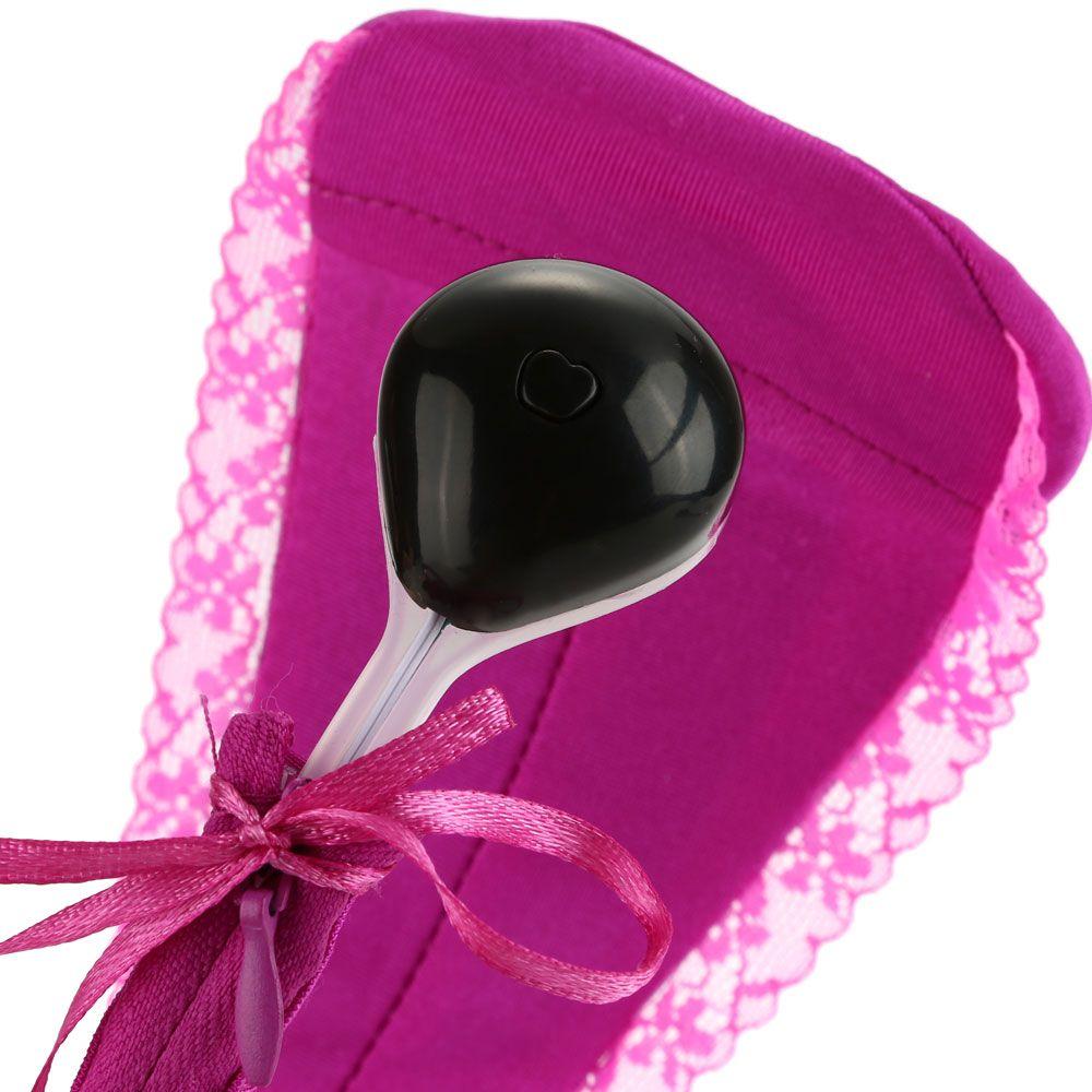 Venta al por mayor-Vibración Bragas productos del sexo ropa interior invisible G-punto vibradores para mujeres juguetes sexuales para mujeres nave libre
