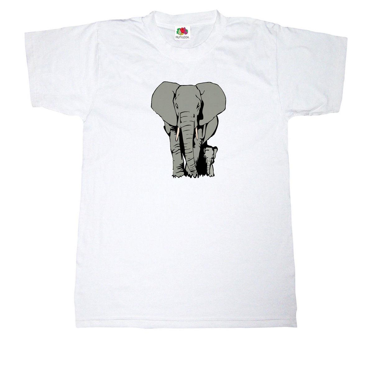 ad9c6a301c2d ELEPHANT T SHIRT 100% COTTON AFRICAN INDIAN WILD ANIMAL SAFARI JUNGLE T  SHIRT Buy T Shirts Online T Shirt From Qz3195649603