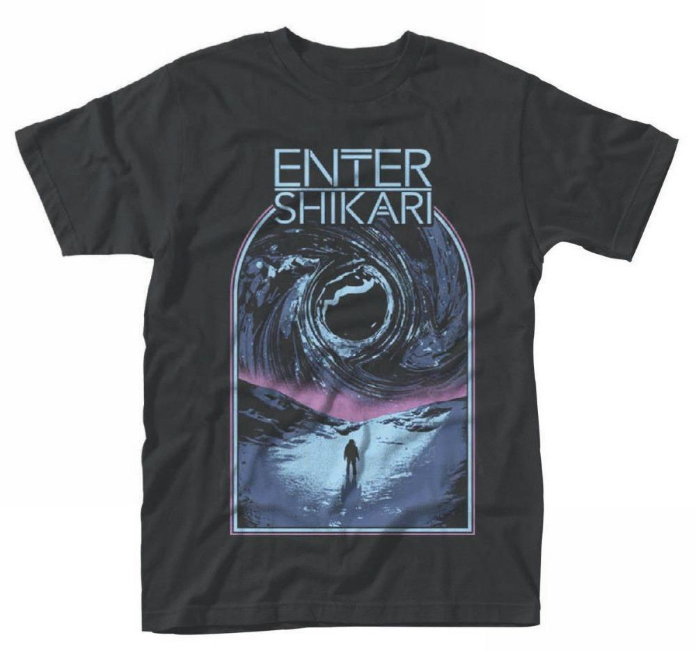 Custom Design T Shirts Enter Shikari Sky Break Crew Neck Novelty