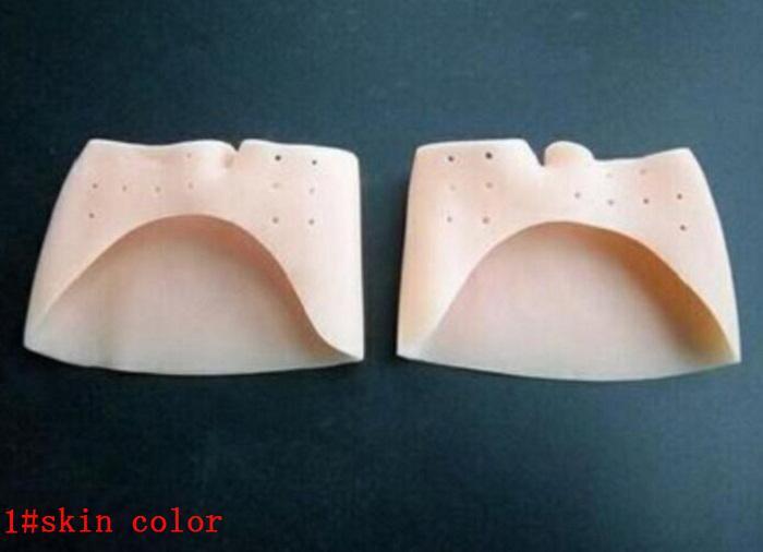 Calzini Piedini in silicone Dita separatori Barelle Raddrizzatori Protector Borsite Regolatore Guardia Piedi Cura Gel Pedicure