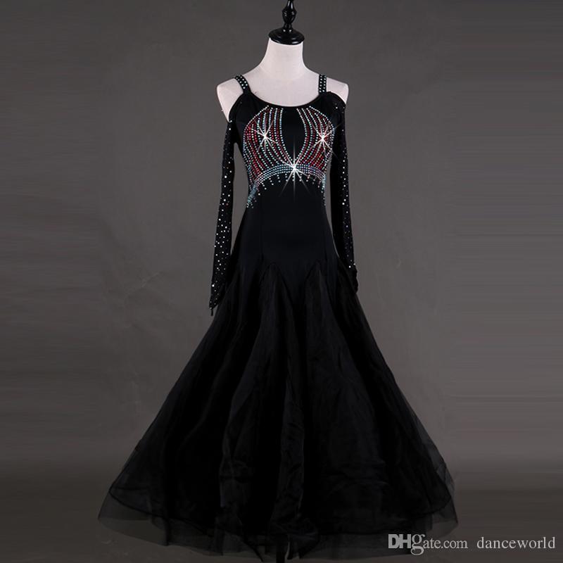 2019 Robes De Concours De Danse De Robe De Formatura Robe De Salle De Bal Standard Robes De Festas Lulu Robe De Concours De Danse