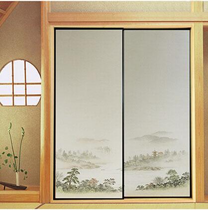 2018 Japanese Fusuma Paper 2 Sheets/Pair Washitsu Woodblock Decor Decorative Door Wall Paper Soji Sliding Door Bedroom Living Room From Hogane ... & 2018 Japanese Fusuma Paper 2 Sheets/Pair Washitsu Woodblock Decor ...
