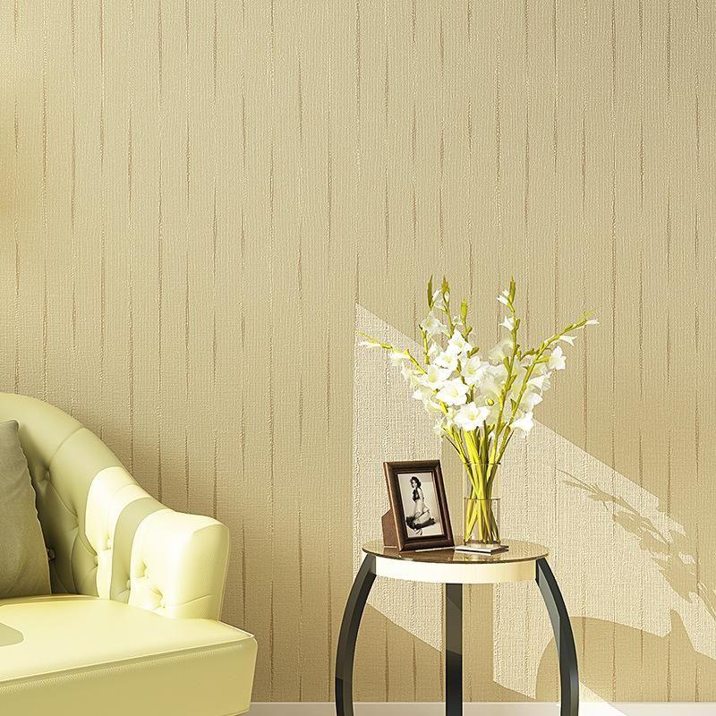 Beibehang Home Decoration Wallpaper Simple Brown Wallpaper Living ...