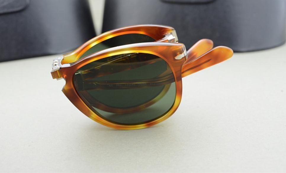 ddb09f88ca Hot Sale Persol Sunglasses Po 714 Series Italian Designer Folding Style  Glasses Unique Shape Top Quality UV400 Protection Eyewear Glasses Sunglasses  Shop ...