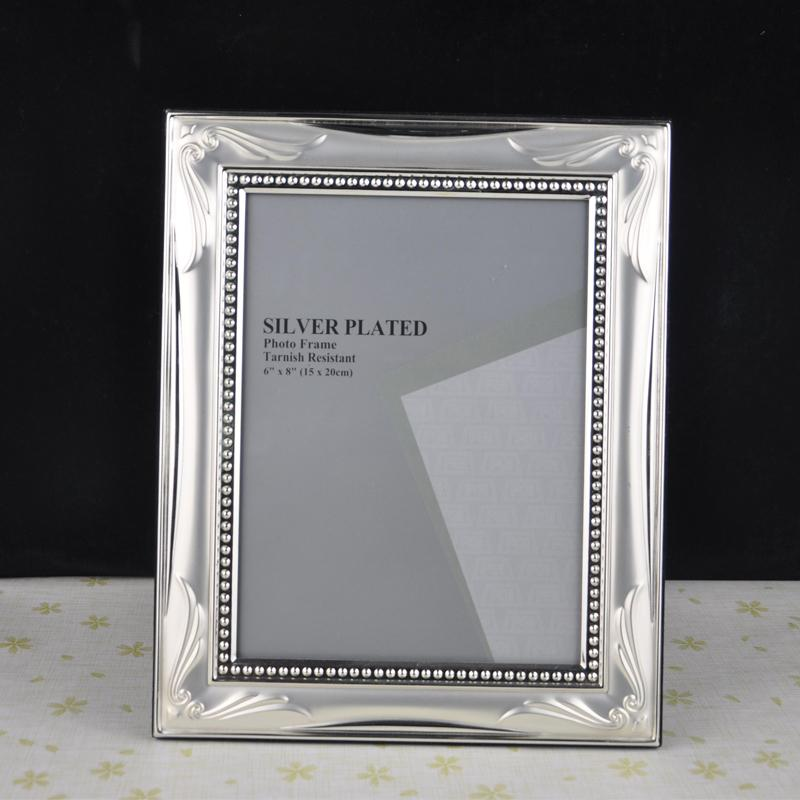 2018 Classic Modern Metal Photo Frame Picture Frames Picture Display ...