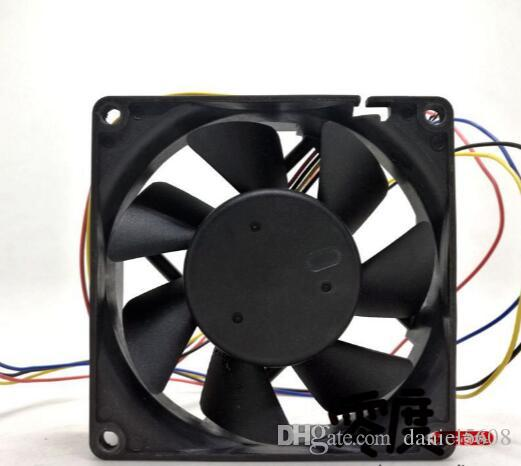 AVC 8cm 8025 48V 0.21A DA08025B48S four-wire switch server chassis fan