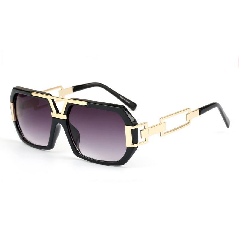 07b1121341 Compre Gafas De Sol Cuadradas Para Mujeres Hombres Lente De Graduación  Visión Del Día Desgaste Del Ojo Lente Negra Diseño De Marca Gafas De Montura  Para ...