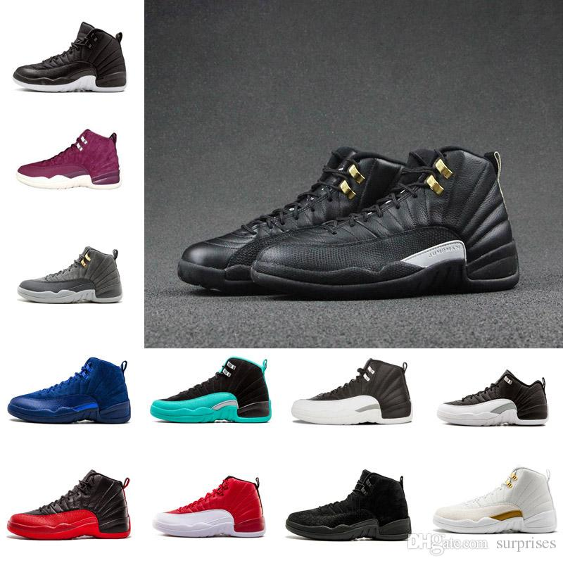 419b70a39bf6 2019 12 Men Basketball Shoes The Master GS Barons Wolf Grey Flu Game Taxi  Playoff French Blue Gym Red Sneakers Cheap Sneakers Basketball Shoes For  Kids From ...