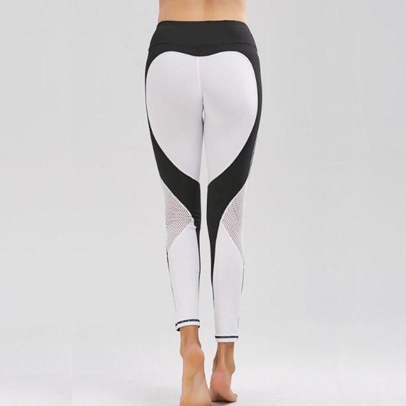 e11519eae97ef 2019 White Heart Pattern Legging Harajuku Athleisure Fitness Clothing  Sportswear Elastic Push Up Leggings Women Pants From Bestshirt008, $28.37 |  DHgate.Com
