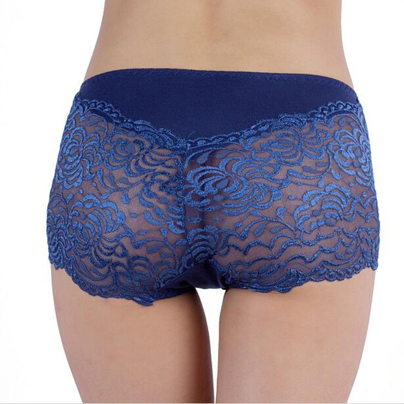 HOT SALE Lace Sexy Underwear Women Hipster Intimates Lingerie Bragas Briefs Bamboo Shorts Female Panties UN70038