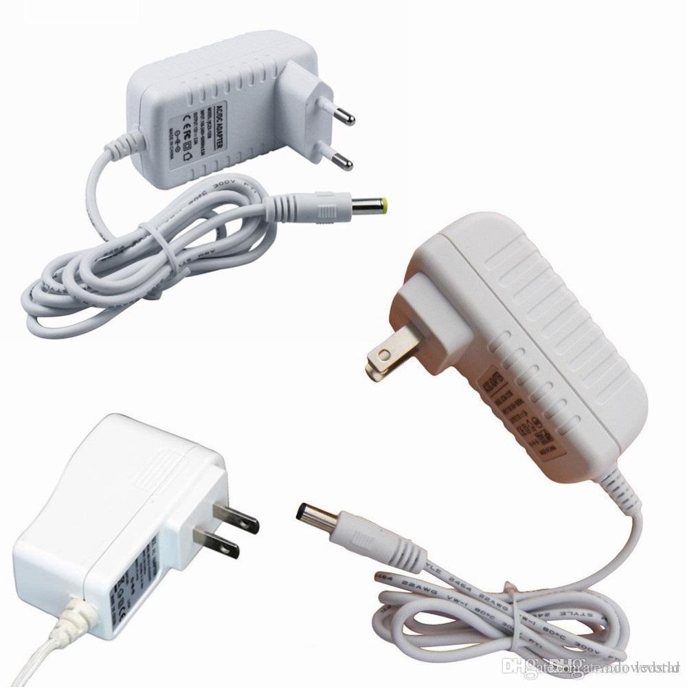 12V Lighting Transformer AC 110V 220V to 12V Power Supply 1A 2A LED Driver  For 3528 5050 LED Strip