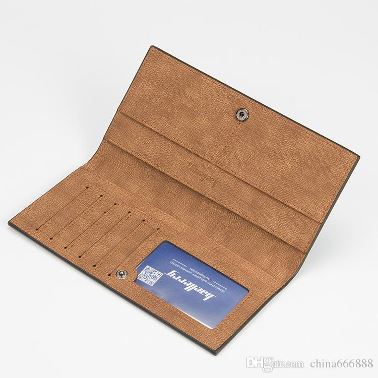 Frosted Wallet men and women holding a gold purse single zipper banknotes folder card wallet hot selling with box
