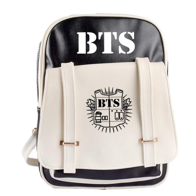 c257bfa43f6 Leather Book Bag Dames Rugtas Leer Woman Fashion Backpack School Tassen  Back Backs Bts Bt21 Tas Kuliah Wanita Girls Bag Hunting Backpacks Gregory  Backpacks ...