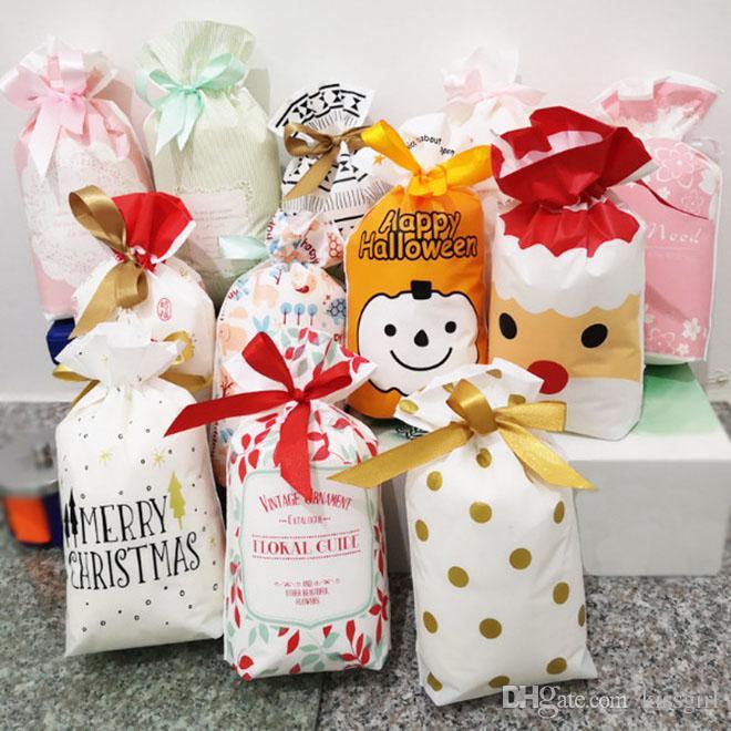 2018 Christmas Gift Bags Small Christmas Tree Gift Bag Cotton Deer Draw String Bag Kids Gift Bags Blue Christmas Decorations Buy Christmas Baubles From ... & 2018 Christmas Gift Bags Small Christmas Tree Gift Bag Cotton Deer ...
