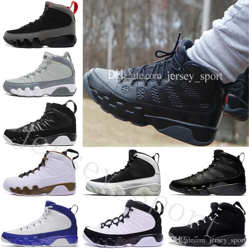 e3fb73212b4 2018 Cheap 9 9s LA Oreo Mens Basketball Shoes for Men Space Jam Tour ...