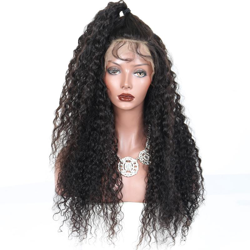 Virgin Peruvian Afro Kinky Curly Glueless U Part Human Hair Wigs Unprocessed Remy Hair Middle Upart Wig Afro Curls With Clips in
