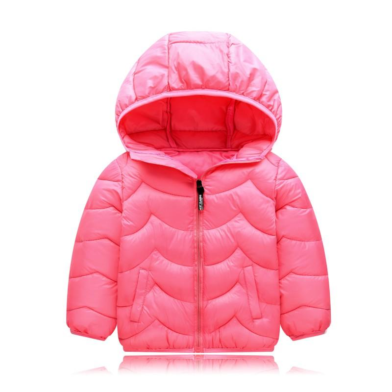 Down & Parkas Children Jackets Parkas Winter Autumn Warm Jacket For Girl Hooded Long Sleeve Baby Toddler Boys Jacket Kids Parka Outerwear Excellent Quality Mother & Kids