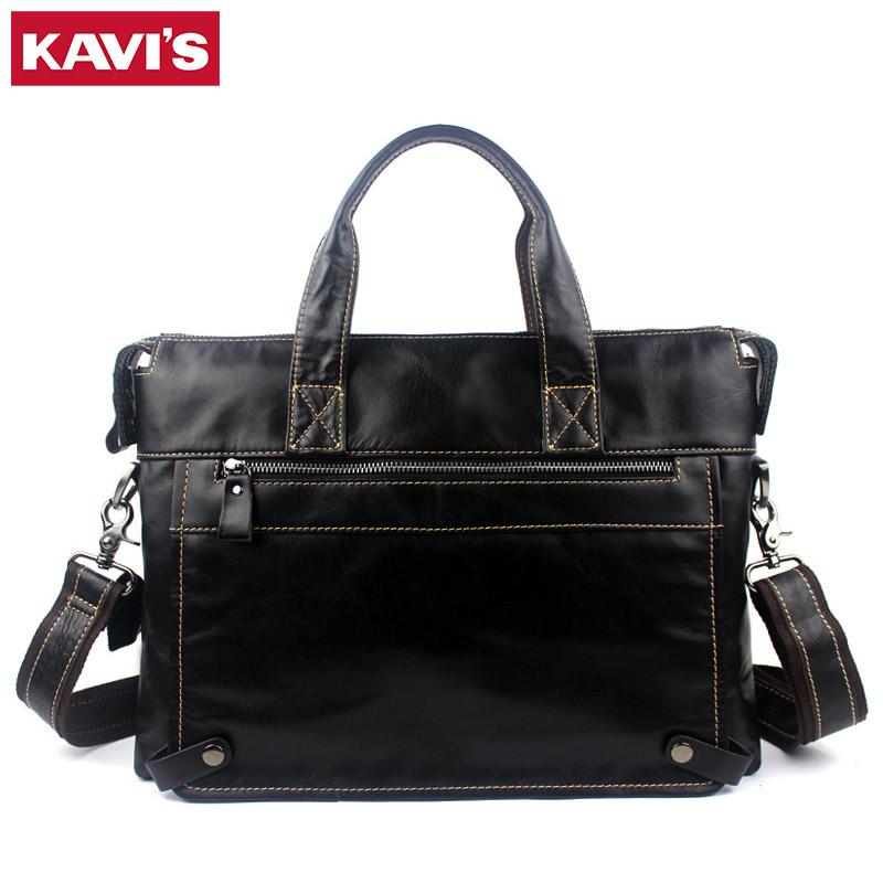 12cbe8b6dfa0 KAVIS Brand Leather Handbag Bag Men Travel For Laptop Briefcase Male  Crossbody Hand Sling O Handles Tote Shoulder Bolsas Sac Tas Purses For Women  Bags For ...