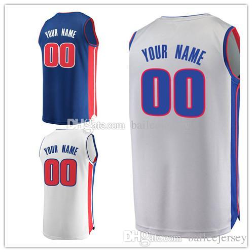 Printed 25 Reggie Bullock Jersey College Basketball 7 Stanley Johnson 9  Langston Galloway 33 James Ennis III 43 Anthony Tolliver Blue White Reggie  Bullock ... afc152477b2b