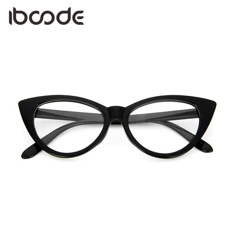 0f531e9779 Iboode Classic Elegant Glasses Frame Cat Eye Men Women Eyewear ...