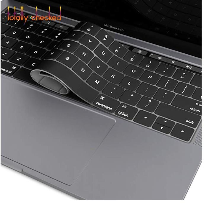 Keyboard Protector For Macbook Newest Pro 13 15 Inch With Touch Bar A1706 A1707 Us English Alphabet Silicone Skin Keyboard Cover Sale Price Keyboard Covers